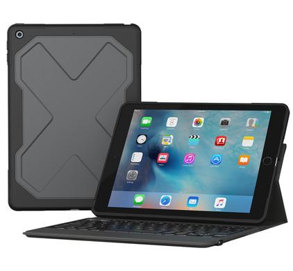 ZAGG Rugged Messenger iPad 9,7 inch Toetsenbord Hoes QWERTY