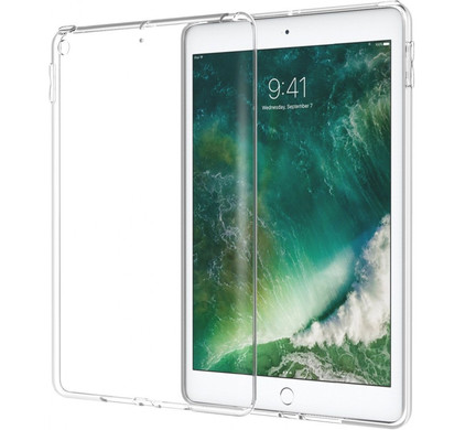 Just in Case Apple iPad 9,7 inch Soft TPU Hoes Doorzichtig
