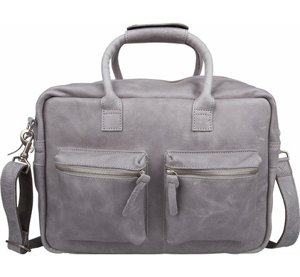 5928e55645e Cowboysbag The College Bag Grey - Coolblue - Voor 23.59u, morgen in huis