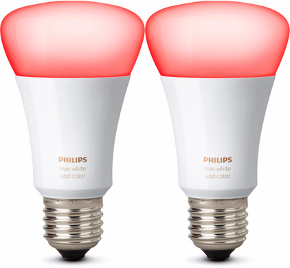 Philips Hue White and Color Losse Lamp 2 Stuks - Coolblue - alles ...