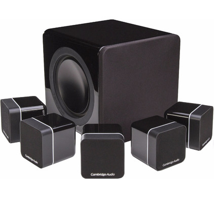 Cambridge Audio Minx Min 12 5.1 Set Zwart
