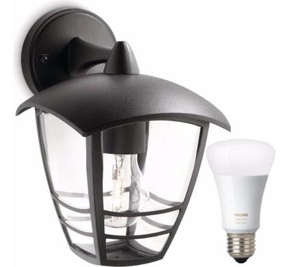 Philips Mygarden Creek Wandlamp + Philips Hue White and Color Lamp ...