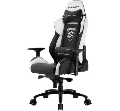 Sharkoon Skiller SGS3 Gaming Chair Zwart/Wit