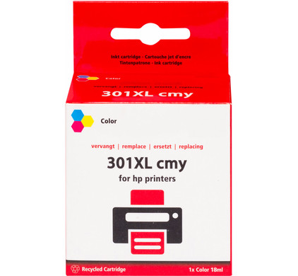 Huismerk 301 3-Kleuren XL voor HP printers (CH564EE)