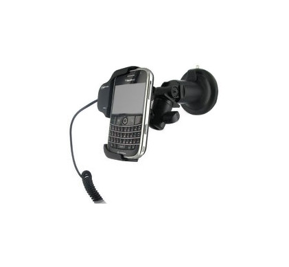 Adapt Car Holder Blackberry 9000 Bold + Dual Car Socket