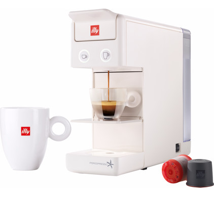 Illy Y3 Espresso & Coffee White Main Image