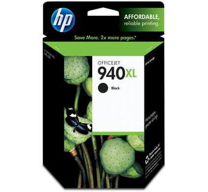 HP 940 Black XL Ink Cartridge (zwart) C4906A