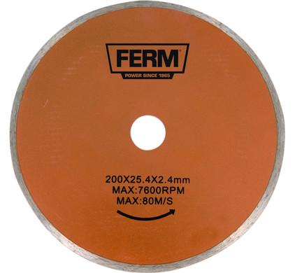 Ferm TCA1006 Diamantzaagblad 200x25.4x2.4mm