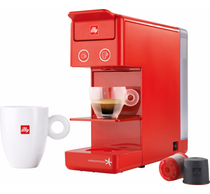 Illy Y3 Espresso & Coffee Red Main Image