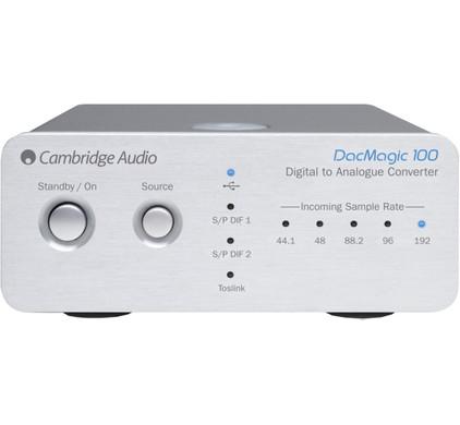 Cambridge Audio DacMagic 100 Zilver