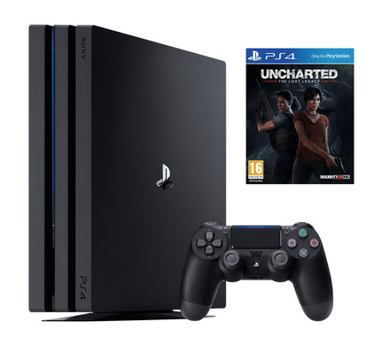 PS4 Pro 1 TB + Gratis Uncharted the Lost Legacy
