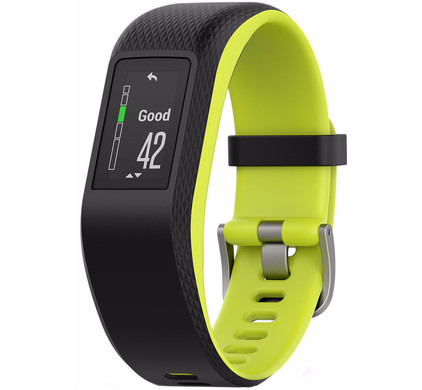 Garmin Vivosport HR Black/Yellow L Main Image