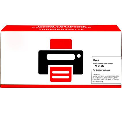 Huismerk TN-245 Cyaan voor Brother printers