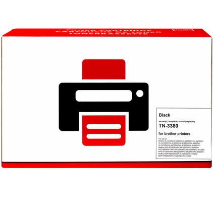 Huismerk TN-3380 Toner Zwart XL voor Brother printers (TN-3380)