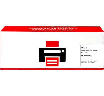 Huismerk 128A Toner Zwart voor HP printers (CE320A)