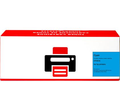 Huismerk 130A Toner Cyaan voor HP printers (CF351A)