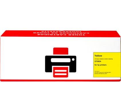 Huismerk 312A Toner Geel voor HP printers (CF382A)