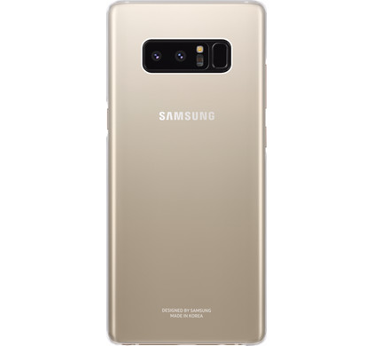 Samsung Galaxy Note 8 Clear Back Cover Transparant