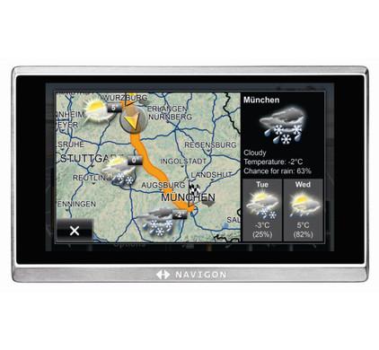 Navigon 8450 Europe Live + Tas + DVB-T Module