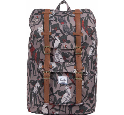 Herschel Little America Mid-Volume Brindle Parlour/Tan Synth Leather