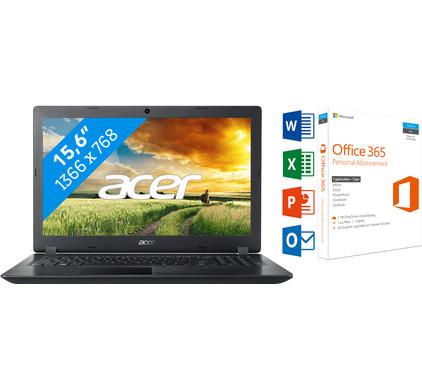 ACER ASPIRE 3 A315-31-C440 + Office 365 1 jaar