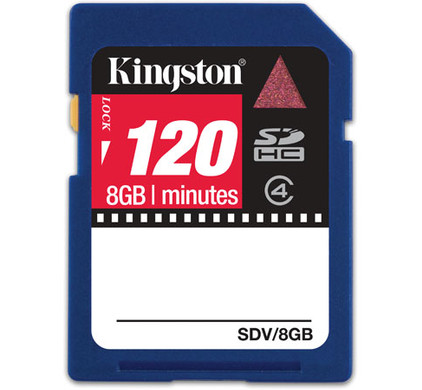 Kingston SD 8 GB SDHC  + Geheugenkaartlezer