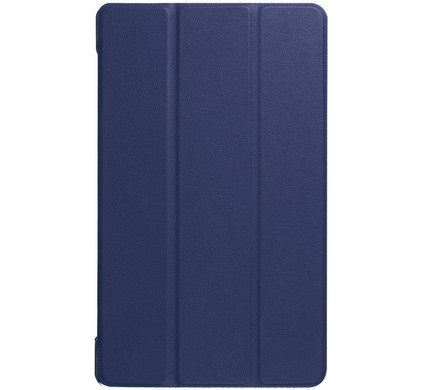 Just in Case Lenovo Tab 4 8 Plus Smart Tri-Fold Case Blauw