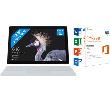 MICROSOFT SURFACE PRO - I5 - 8 GB + Office 365 1 jaar