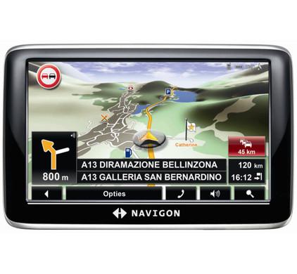 Navigon 6350 Europe Live + Tas + Thuislader