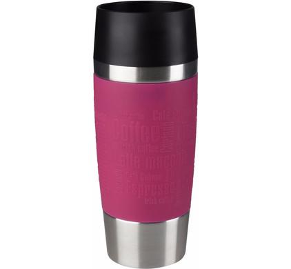 Tefal Travel Mug 0,36 liter RVS/raspberry