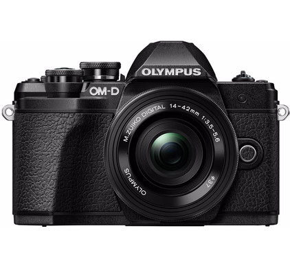 Olympus E-M10 Mark III Body Zwart + 14-42mm