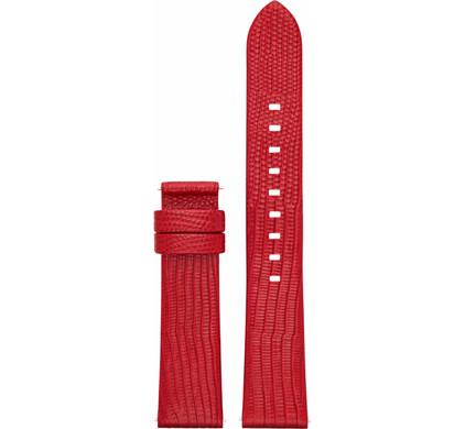 Michael Kors Access 18mm Leren Horlogeband Rood