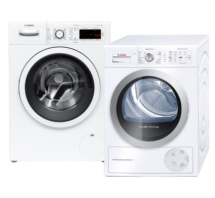 Bosch WAW32461NL + Bosch WTY87700NL