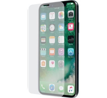 Azuri Apple iPhone X/Xs Screen Protector Curved Tempered Glass Duo Pack