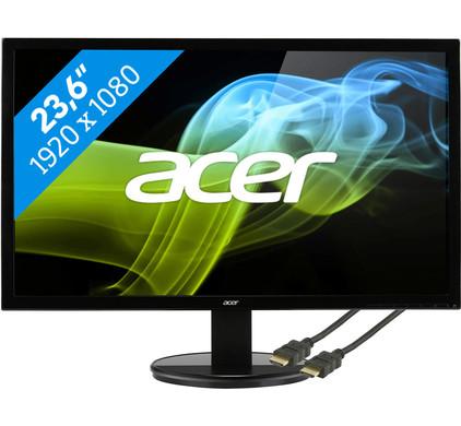 Acer K242HQLCbid + HDMI kabel