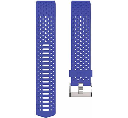 Fitbit Charge 2 Kunststof Horlogeband Blauw Small