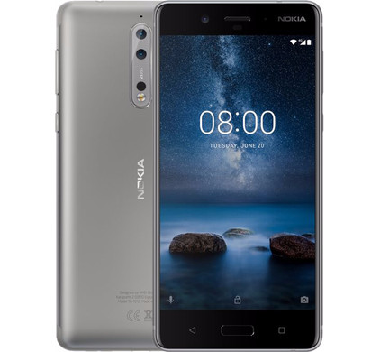 Nokia 8 Grijs - Coolblue - Voor 23.59u, morgen in huis