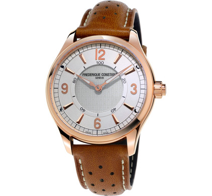 Frederique Constant Horological White / Brown Main Image