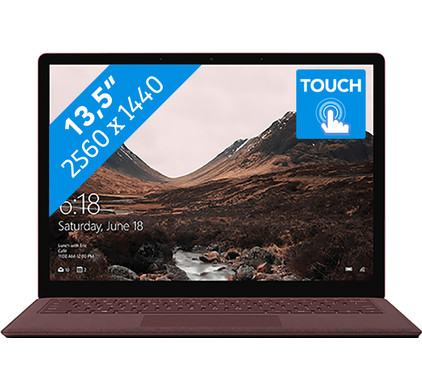 Microsoft Surface Laptop - i5 - 8 GB - 256 GB Bordeauxrood