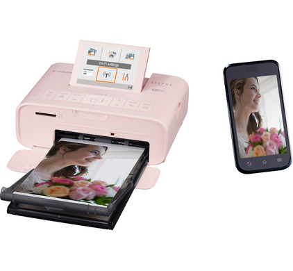 Canon SELPHY CP1300 Roze Main Image