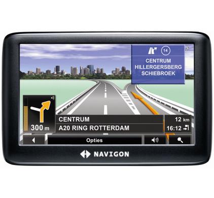 Navigon 3310 MAX Europe + Tas + Thuislader