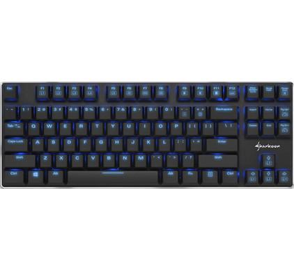 Sharkoon PureWriter TKL Blue Gaming Toetsenbord QWERTY