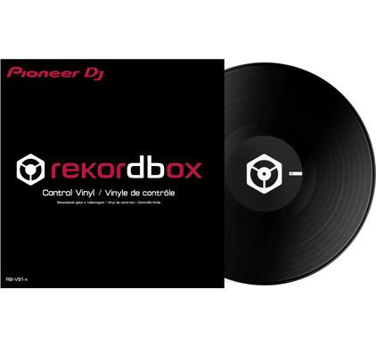Pioneer RB-VS1-K DVS Control Vinyl Zwart
