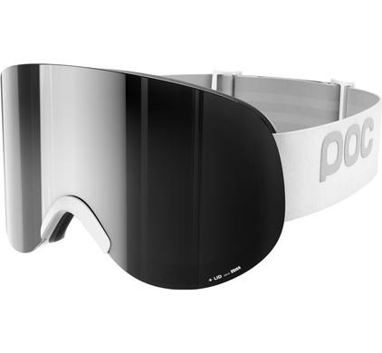 POC Lid Hydrogen White + Bronze Silver Mirror Lens