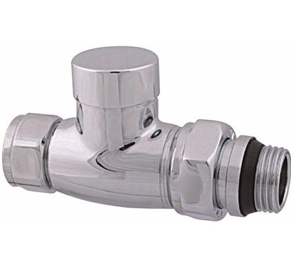 "Best Design Luxe Regel-T Foot valve Straight 1/2 ""x15 mm Main Image"