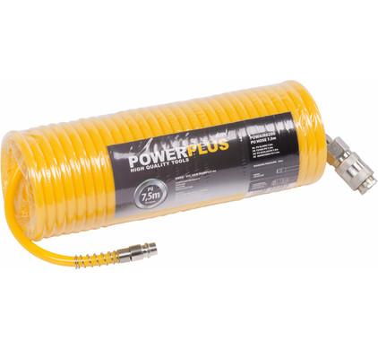 Powerplus Luchtslang 7,5m PU