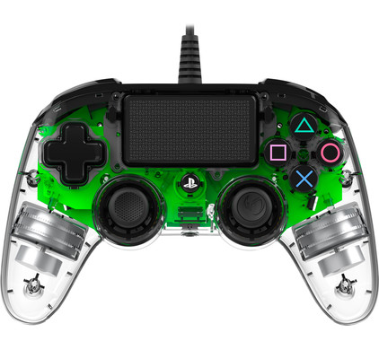 Nacon PS4 Official Wired Illuminated Controller Groen