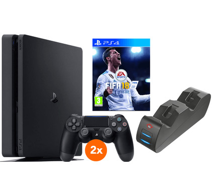 Sony PS4 Slim 500 GB FIFA 18 Multiplayer bundel