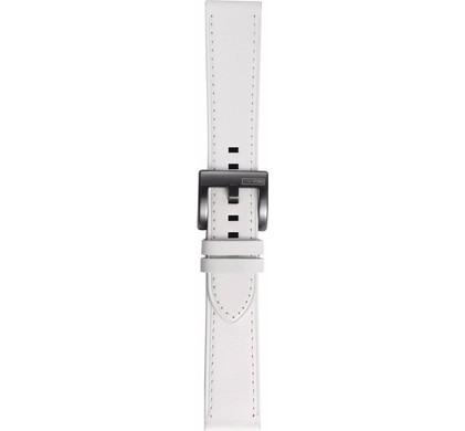 Samsung Gear Sport Leren Horlogeband Wit