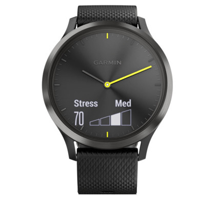 Garmin Vivomove HR Sport Black - M/L Main Image